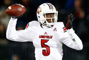 Louisville quarterback Teddy Bridgewater