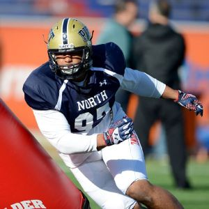 Former Pitt defensive tackle Aaron Donald had a good Senior Bowl.