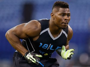 University of Buffalo linebacker Khalil Mack is a freakish athlete that may be the first linebacker taken.