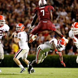 South Carolina defensive end Jadeveon Clowney