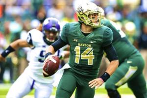 Baylor QB Bryce Petty threw for 510 yards and 6 TD's in their comeback win over TCU.