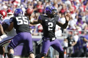 TCU QB Trevone Boykin had a career day as he led his Horned Frogs past the Oklahoma Sooners.