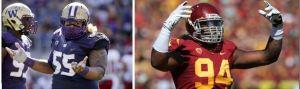 Who will be first defensive lineman taken? Washington's Danny Shelton or USC's Leonard Williams?